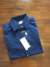 ARMANI COLLEZIONI THE MODERN FIT NAVY BLUE  SHIRT (37/ 14..5 R ) $ 225
