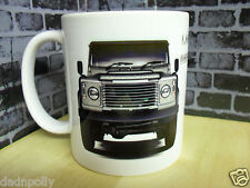 LAND ROVER DEFENDER 90 - CERAMIC MUG - IDEAL GIFT - PERSONALISED IF REQUIRED