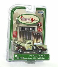 Gearbox 56991 1:43 1942 Ford Pickup US Fish Wildlife Service MIB Great Outdoors