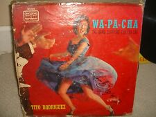 Tito Rodriguez - Wa Pa Cha - Mega Rare TICO Black LP in Fair Conditions - L4
