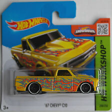 Hot Wheels - ´67 / 1967 Chevy C10 Pickup gelb mit Flammen Neu/OVP