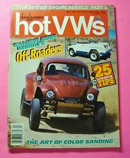 DUNE BUGGIES AND HOT VWs MAGAZINE APR/1988...STEP BY STEP ENGINE REBUILD PART 8