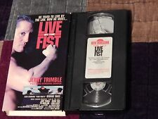 Live By the Fist + The Package + Hear No Evil (VHS x 3) LOT) Free Ship.) ACTION)