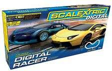 Scalextric C1327 Digital Racer Lamborghini Vs Bugatti Racing Set 1:32 Scale BNIB