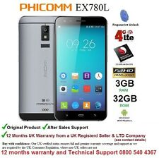 """Phicomm EX780L 5.5"""" Android DUAL SIM Smartphone Mobile Quad Core 3GB RAM 32GB 4G"""