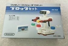 STACK UP FAMICOM SET CIB FOR ROB ROBOT Nintendo NES Family computer AB6-6u