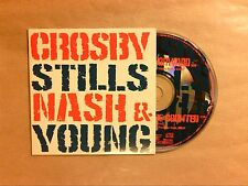 RARE CD PROMO 1 TITRE / CROSBY STILLS NASH & YOUNG / STAND AND BE COUNTED / TBE