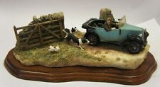 "Border Fine Arts Figure ""The Chase"" Made in Scotland. Ray Ayres."