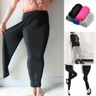 Women Plus Size Skinny High Waist Leggings Stretchy Sexy Pants Pencil Jeggings
