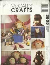 McCALL'S CRAFTS 3905 PATTERNS NEW & UNCUT ACCESSORIES FOR GIRLS 2002   09/2016