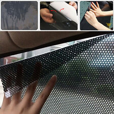 2x Black Car Sun Shade Static Protection Block Cover For Auto Window Side Shield