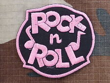 ECUSSON PATCH THERMOCOLLANT aufnaher toppa ROCK N ROLL rose elvis cash perkins