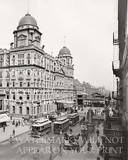 Grand Central Station New York City 1900 railroad train depot terminal photo
