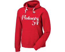 Womens Polaris Hoodie Sweatshirt Red 3XL New with Tags
