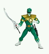 "Power Rangers Legacy Tommy Green Ranger Legacy 6.5"" Figure & Dragon Coin Sticker"
