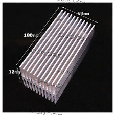1pc 100x50x30mm HEAT SINK ALUMINUM for memory CHIP CPU DISSIPATORE LED AQUARIUS