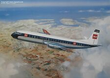 B.E.A. BEA VICKERS VANGUARD BRITISH AIRWAYS AIRLINER