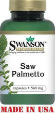 SWANSON  PREMIUM SAW PALMETTO - 540 mg - 100 Capsules - MEN'S PROSTATE SUPPORT