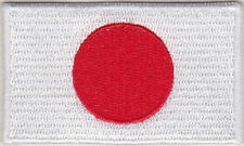 Japan Country Flag Embroidered Patch T4