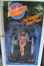 Vintage Poster Old Style Beer Car Bikini Girl 1990 G Heileman Brewing Co.