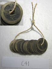 Edo / old coin /Japanese 20 pcs / antique / kanei tsuho / 4mon(11wave) sale #C41