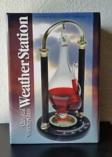 Barometer Koch Desktop Classical Glass Weather Station Predictor and Thermonitor
