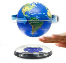 "Home High-Tech Decor 6"" Magnetic Rotating Floating Levitating Earth Globes US"