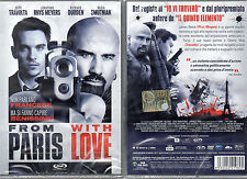 FROM PARIS WITH LOVE - DVD (NUOVO SIGILLATO) JOHN TRAVOLTA
