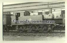 ry900 - British Railway Engine no 68513 at Stratford Shed in 1957 - photograph