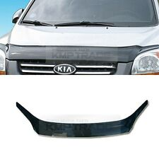 San Black Front Hood Guard Bug Shield Molding for KIA 2005 - 2010 Sportage