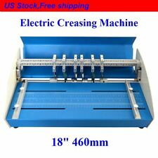 "NEW 18"" 460MM METAL ELECTRICAL CREASING MACHINE CREASER SCORER PERFORATING PAPER"