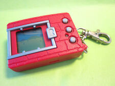 1997 BANDAI DIGIMON DIGIVICE DIGITAL MONSTER GAME SOLID RED CASE ENGLISH *NICE*