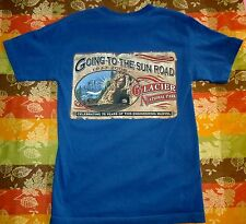 Going to the Sun Road T Shirt, like Stanley Kubrick film The Shining Mens Small