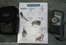 BAT 5 DIGITAL BAT DETECTOR GIFT PACK FROM MAGENTA.WITH CASE& FIELD GUIDE