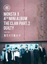 MONSTA X The CLAN 2.5 Pt.2 GUILTY GUILTY Version CD Booklet Photocard 4th Album