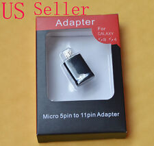 Micro USB 5 Pin to 11 Pin Adapter Converter For Samsung Galaxy S3 MHL HDMI HDTV
