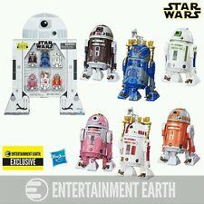 Star Wars Astromech Droids 3 3/4-Inch Figures - EE Exclusive 6-pk Set