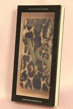 NIB 1 VICTORIA'S SECRET VS LOGO CHEETAH PATTERN HARD CASE COVER iPHONE 5/5S NEW