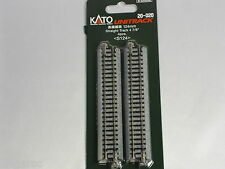 Kato n gauge Unitrack Straight 124mm 4 pieces 20-020