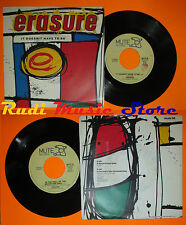 LP 45 7'' ERASURE It doesn't have to be In the hall 1987 italy MUTE 56 cd mc*dvd