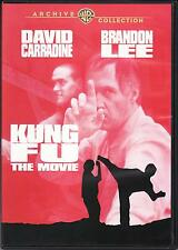 KUNG FU THE MOVIE - DVD Disc - David Carradine & Brandon Lee