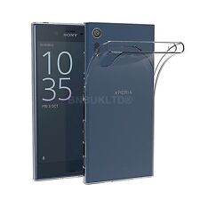 Clear Slim Gel Case & Glass Screen Protector for Sony Xperia XZ