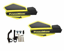 Powermadd Star Series Handguards Guards Yellow / Black Snowmobile Ski Doo Summit