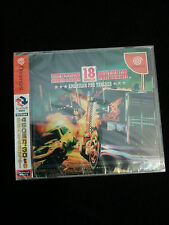 18 Wheeler Japan Dreamcast JPN *Brand New Sealed* Official Sealed MINT Condition