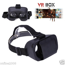 Google Cardboard Headset VR BOX Virtual Reality 3D Glasses For Samsung iPhone