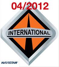 2012  INTERNATIONAL NAVISTAR ISIS DIAGNOSTIC REPAIR SERVICE MANUAL + WIRING