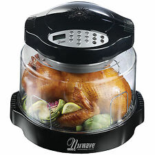 Nuwave Pro Digital-Controlled Infrared Tabletop Oven with extended ring