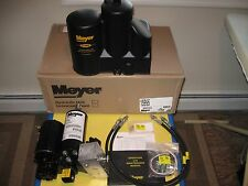 MEYER E-58H SNOW PLOW PUMP KIT- NEW 15995 UNIT WITH HOSES FITTINGS COVER MANUAL