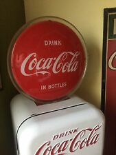 Vintage 1940's Coke Coca Cola Back Bar Light up Sign NICE!