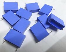 pack of 10 Philips 4.7uf 63v 2222-344-15475 22mm pitch MKT capacitors 475